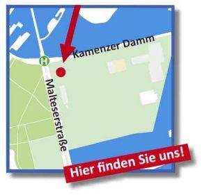 Anfahrt Feuerwerkverkauf Berlin Lankwitz
