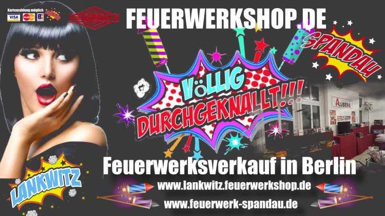 Feuerwerksverkauf in Berlin!