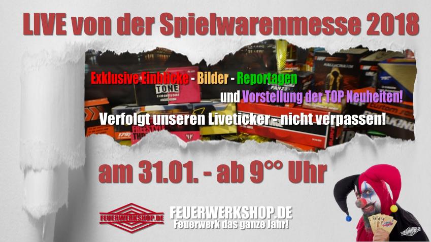 Liveticker von der Spielwarenmesse in Nürnberg 2018