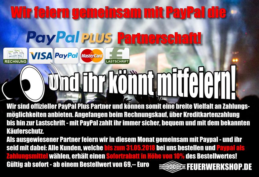Paypal Akltion - jetzt noch 10% Rabatt sichern!