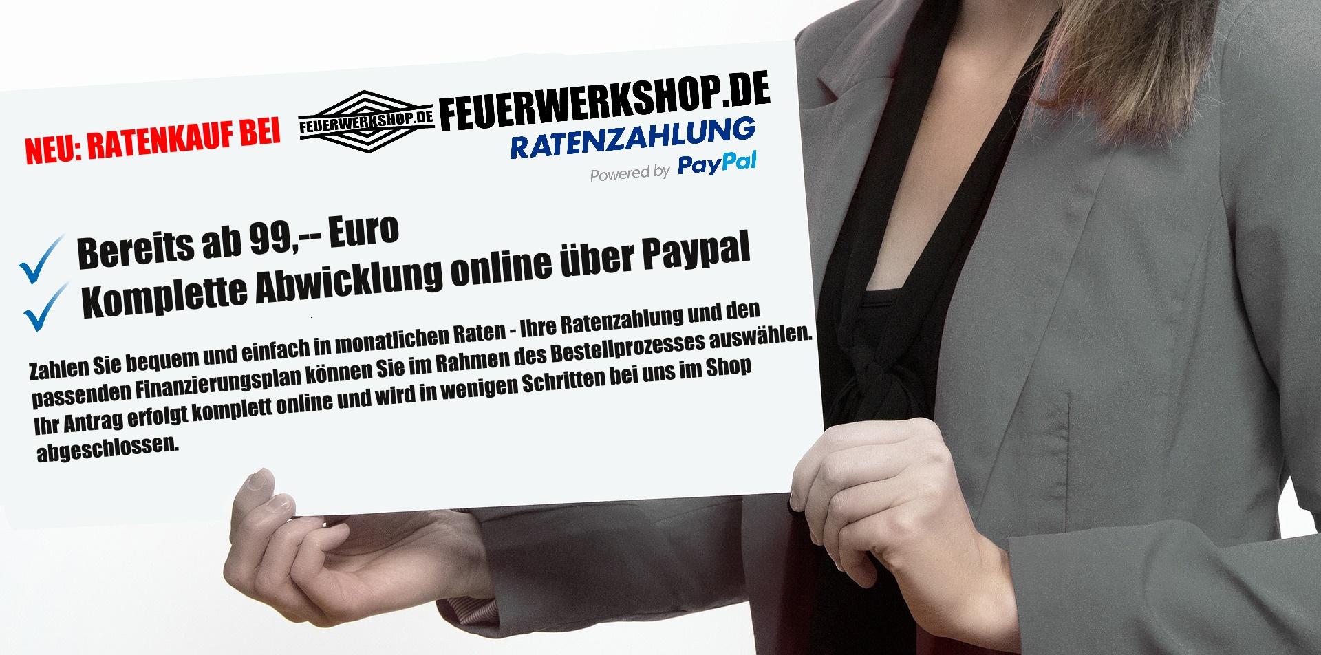 Ratenkauf bei feuerwerkshop.de