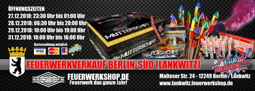 Feuerwerk Verkaufstand Berlin
