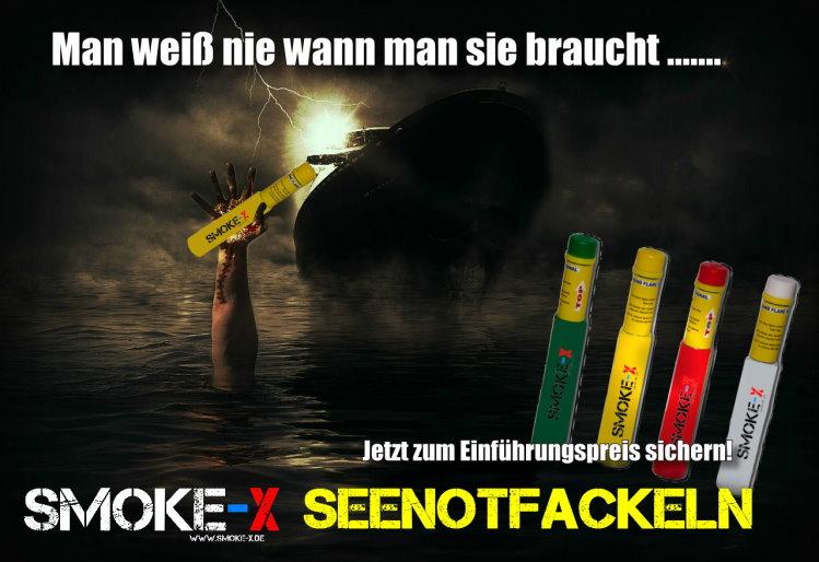 SMOKE-X Seenotfackeln