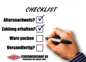 Bestellstatus bei feuerwerkshop.de