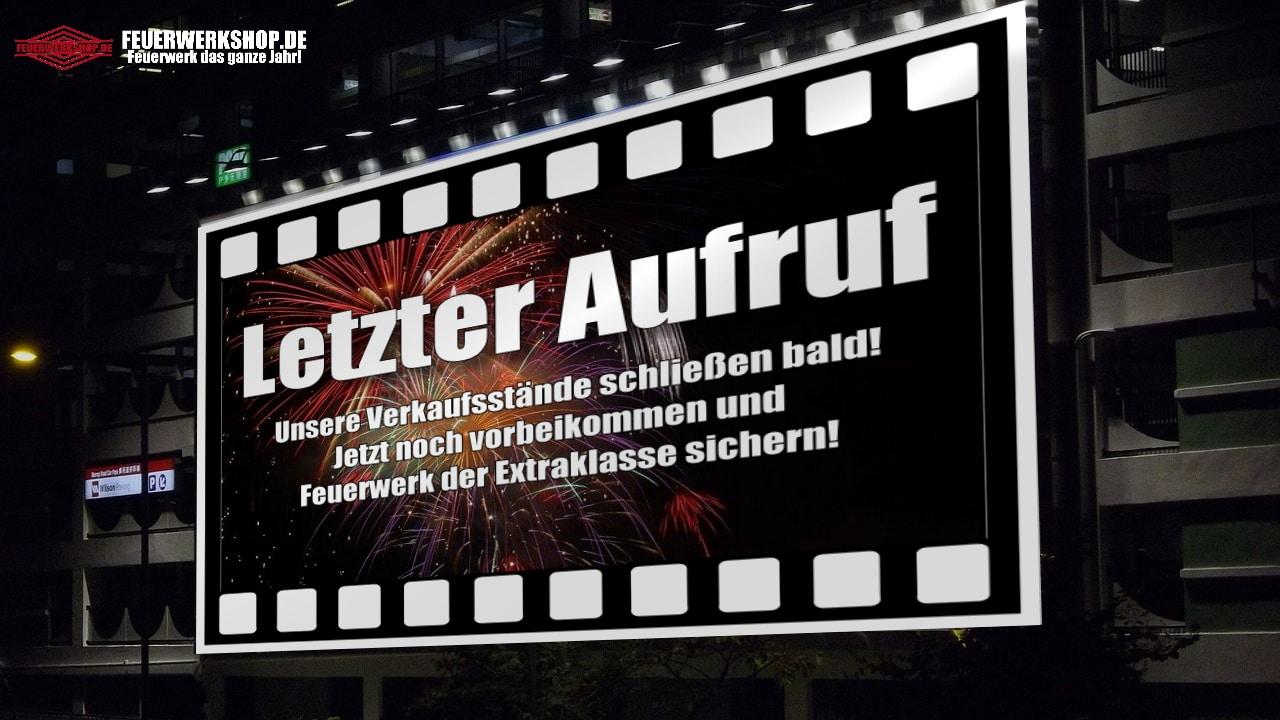 Letzte Chance: Feuerwerk Direktverkauf in Berlin