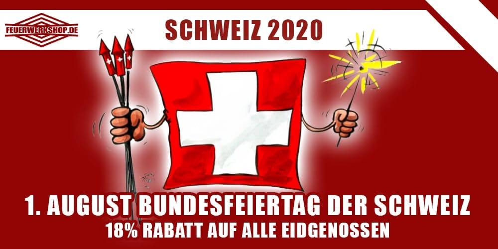 1. August Nationalfeiertag in der Schweiz