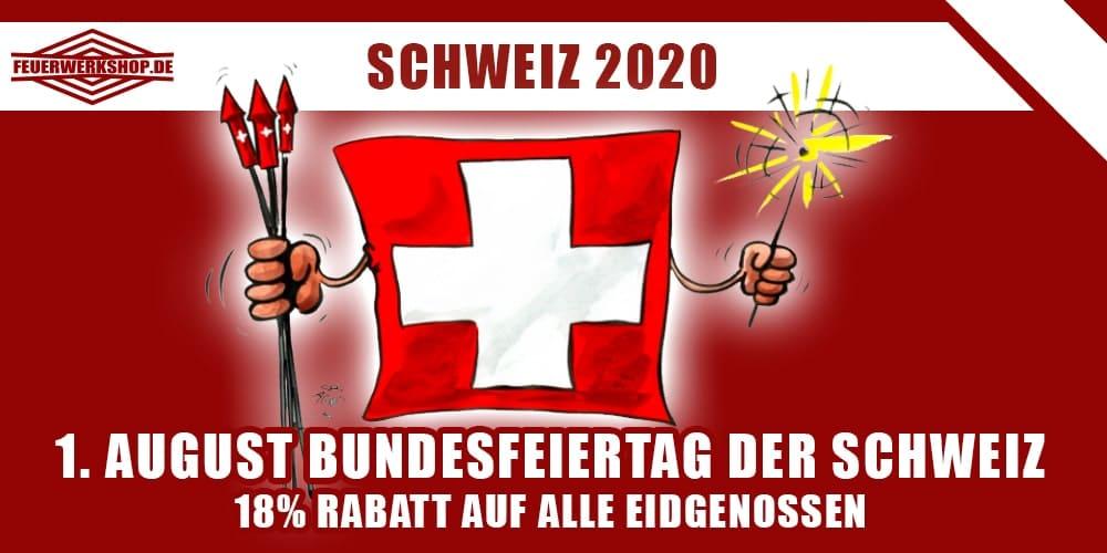 1. August Nationalfeiertag in der Schweiz