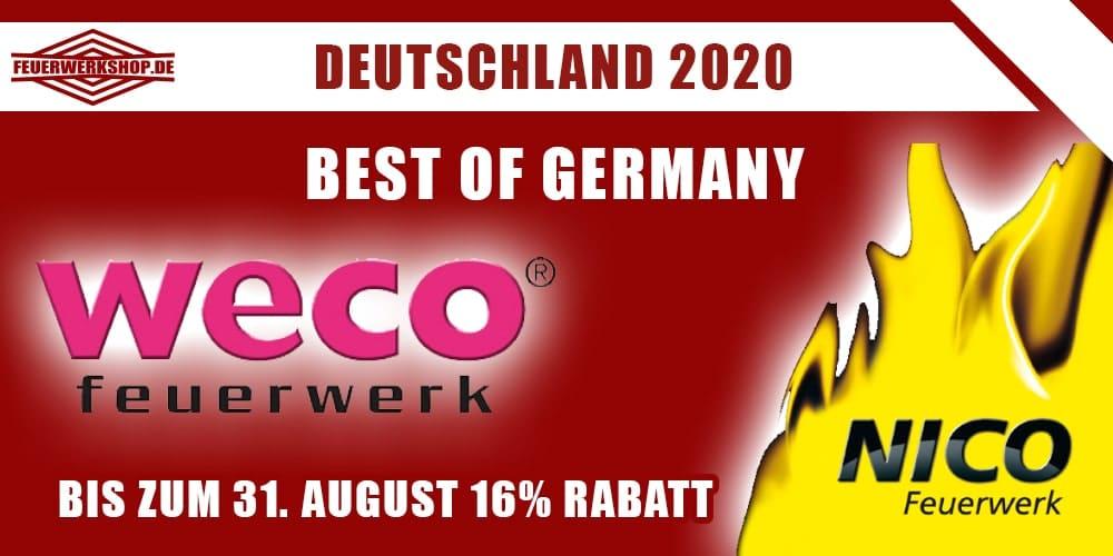 Feuerwerk kaufen von deutschen Firmen